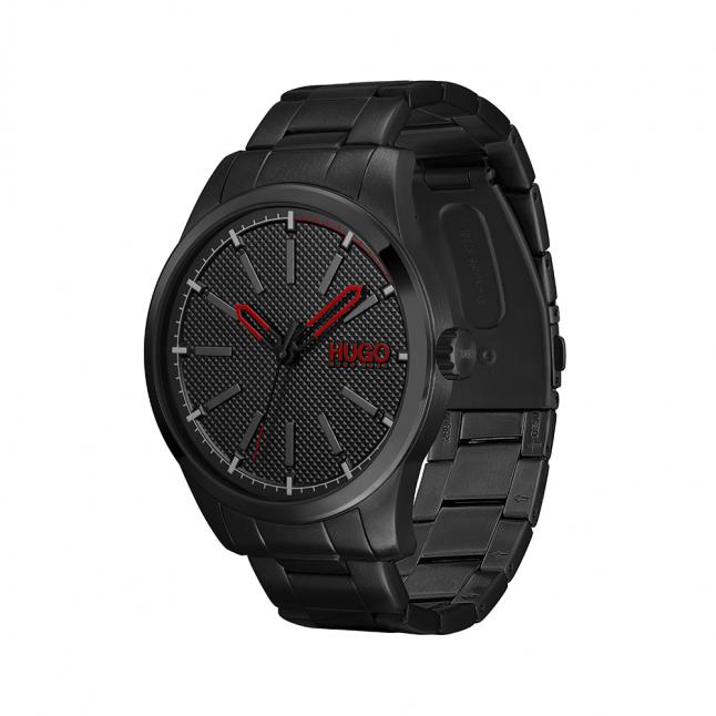 Mens Black Invent Bracelet Watch