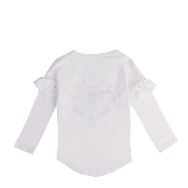 Junior Optic White Gemma Icon Eye L/s T Shirt
