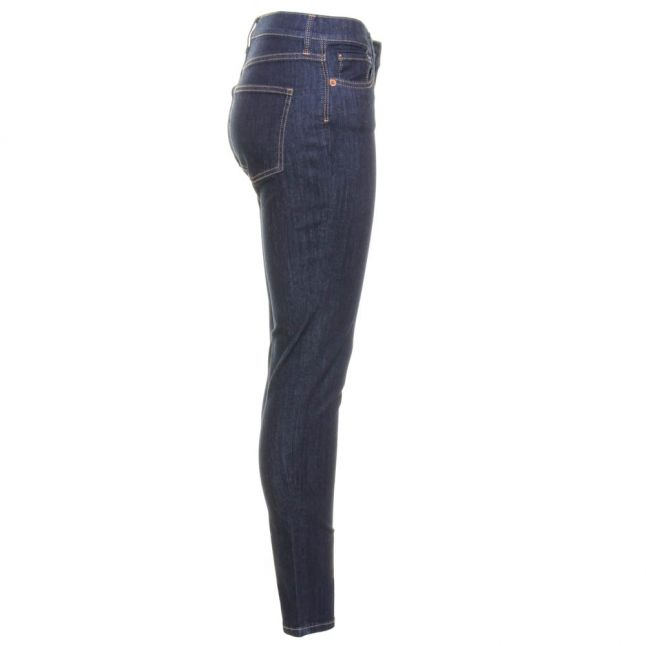 Womens Rinse Rebound Skinny Fit Jeans