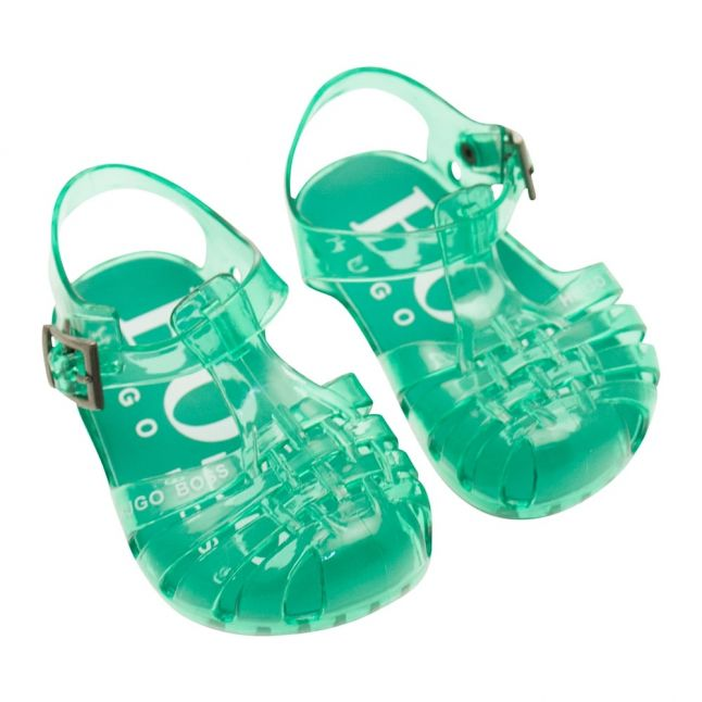Baby New Green Jelly Sandals (19-30)