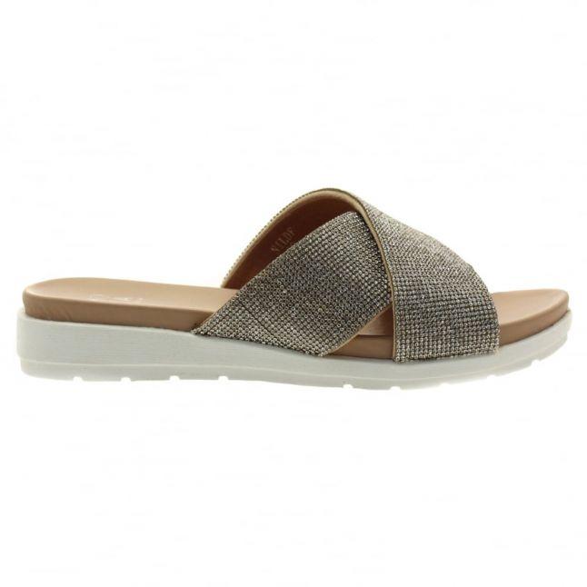 Womens Nude Nilde Slide Sandals