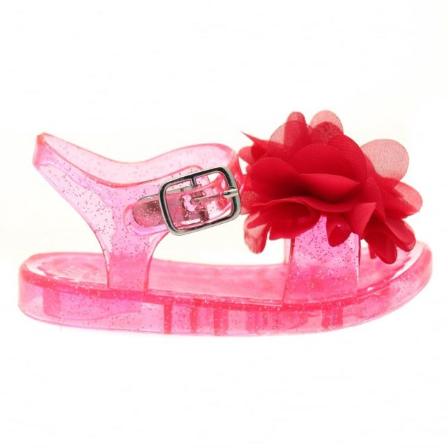 Girls Fuchsia Fiore Sandals (20-31)