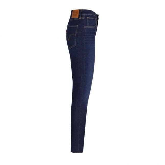 Womens On The Rise Dark Blue Mile High Super Skinny Jeans