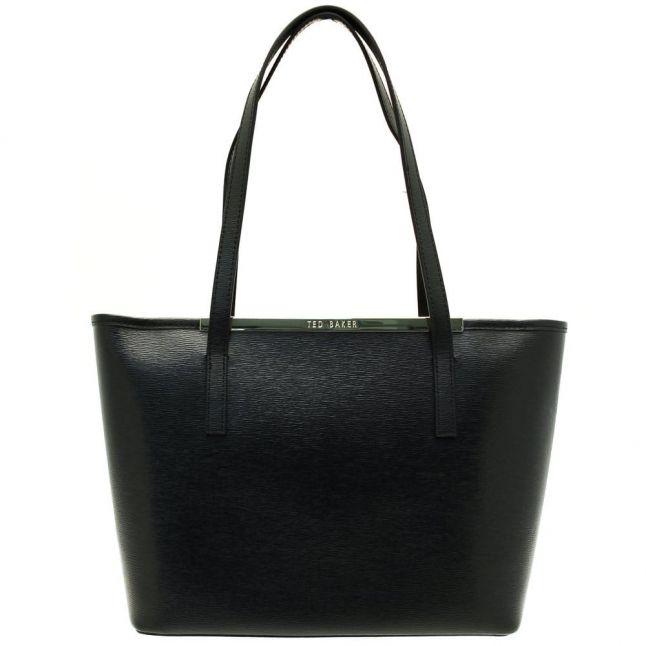 Womens Black Haileyz Small Crosshatch Shopper Bag & Purse