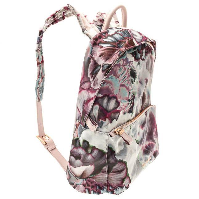 Womens Dusky Pink Iven Nylon Backpack