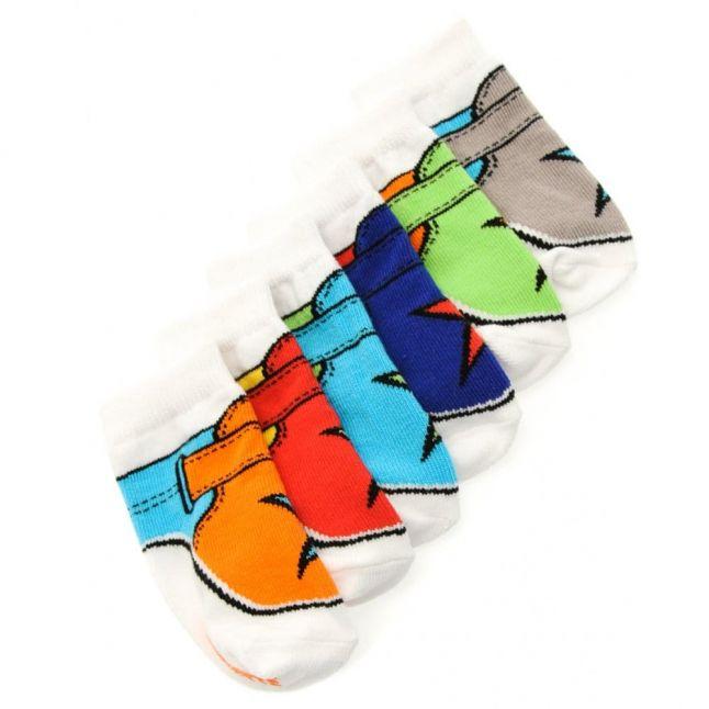 Baby Assorted Ka Pow Socks (0-12)