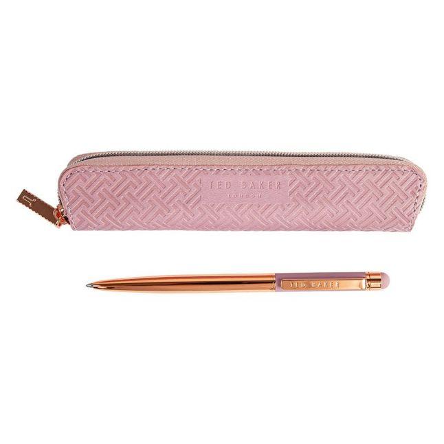 Womens Dusky Pink Touch Screen Pen in Case