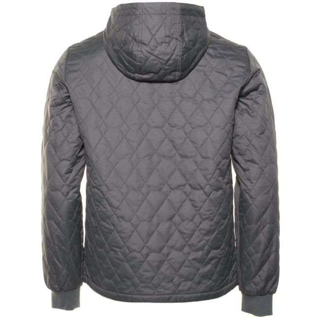 Mens Eiffel Tower Quilted Hooded Ratner Jacket