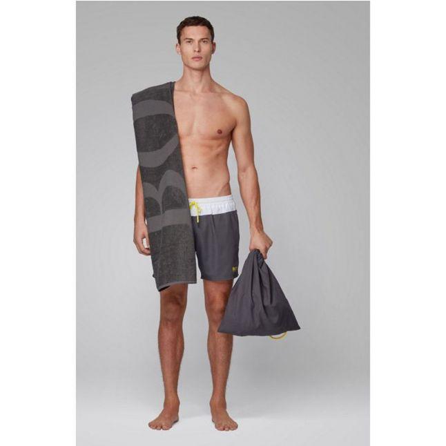 BOSS Mens Grey Swim Beach Set