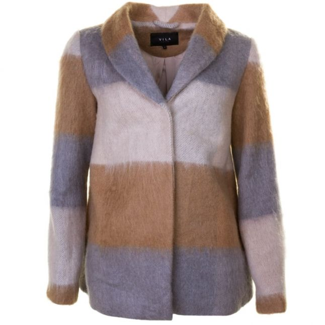 Womens Dusty Camel Vibrow Brushed Jacket
