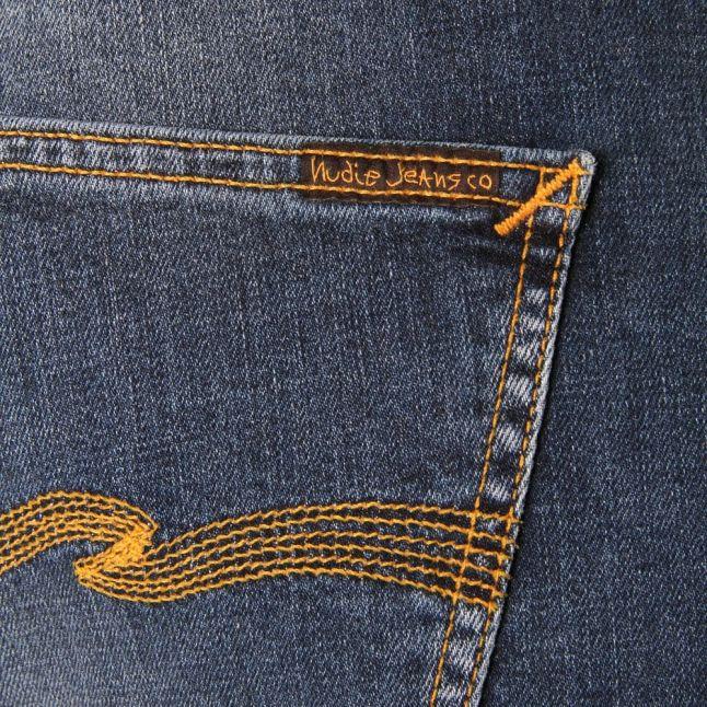Mens Bay Blue Wash Lean Dean Slim Fit Jeans