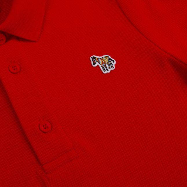 Boys Gojiberry Red Ridley Zebra S/s Polo Shirt