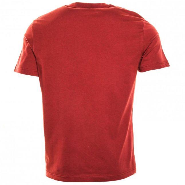 Mens Pomegranate Tape Pocket S/s Tee Shirt
