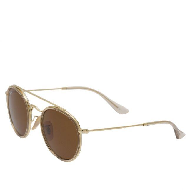 Junior Gold RJ9647S Round Double Bridge Sunglasses