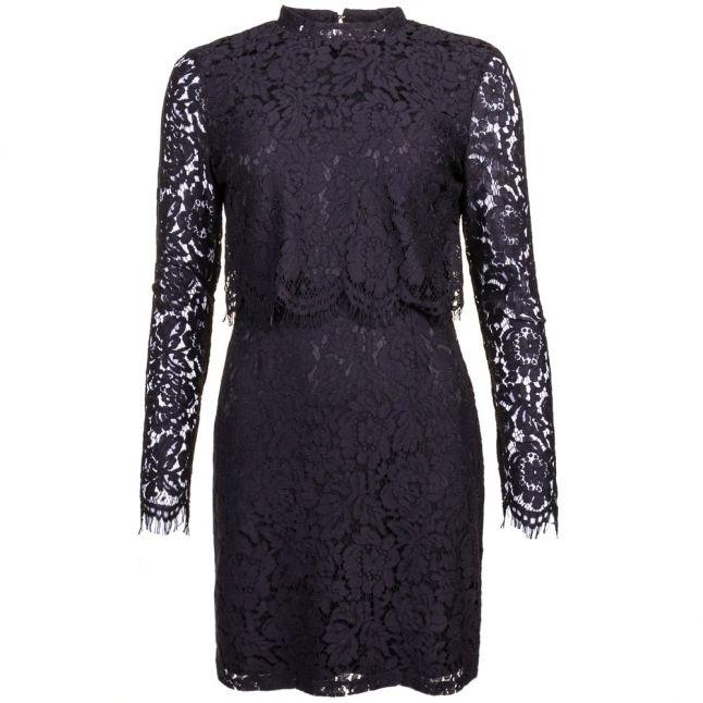 Womens Black Vileicka L/s Dress