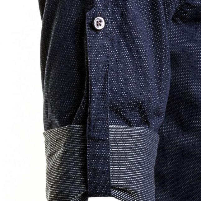 Mens Navy S-Jimmys L/s Shirt