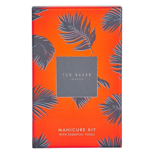 Mens Tan Brogue Manicure Set