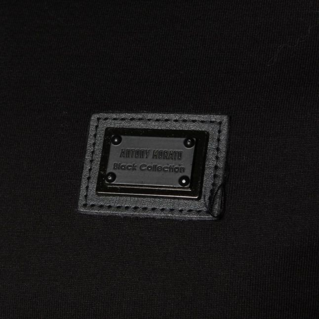 Mens Black Label Crew L/s Tee Shirt
