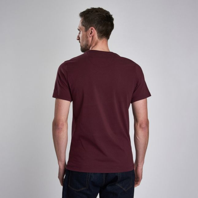 Mens Merlot Archive S/s T Shirt
