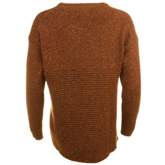 Heritage Womens Harvest Gold Cloudy Crew Jumper