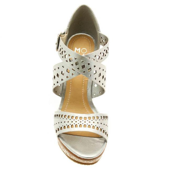 Womens Silver Quirino Wedges
