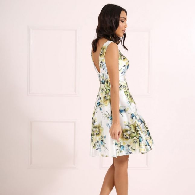Womens Floral Shelby Dress