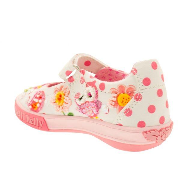 Girls Bianco Fantasia Birdie Shoe (24-33)