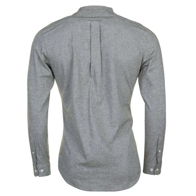 Mens Military Green Steen Slim Fit L/s Shirt