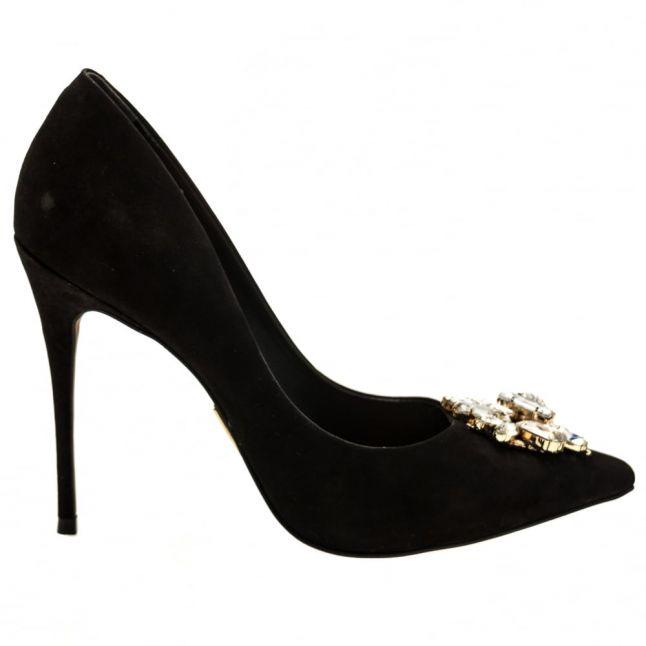 Womens Black Luna Embellished Shoes