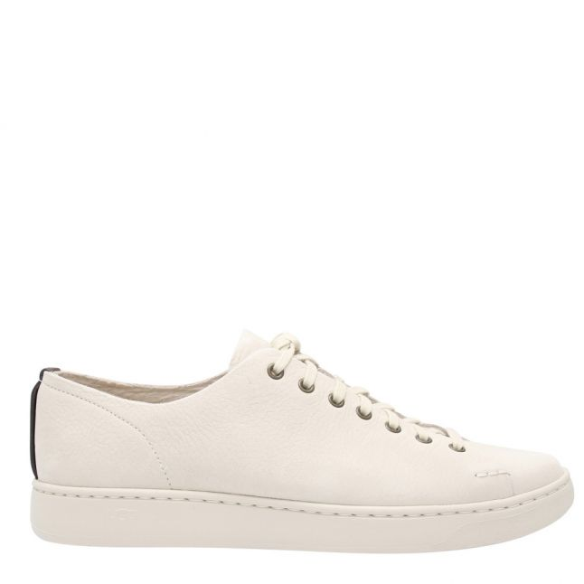 Mens Bone White Pismo Low Trainers