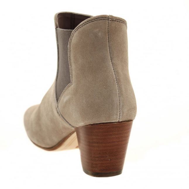 H By Hudson Womens Taupe Claudette Boots