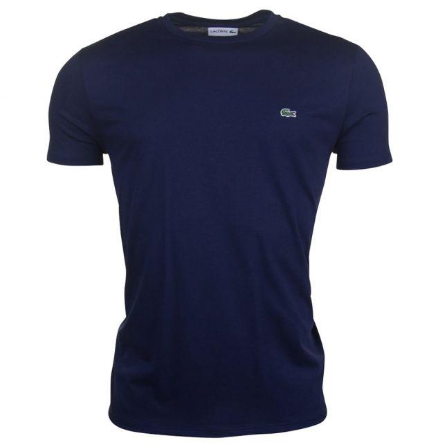 Mens Navy Basic Regular Fit S/s T Shirt