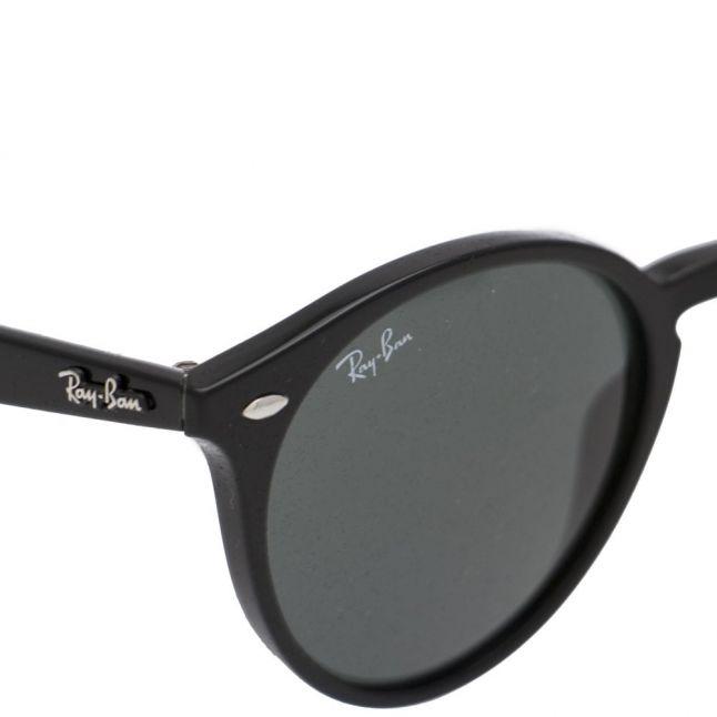 Black RB2180 Round Frame Sunglasses