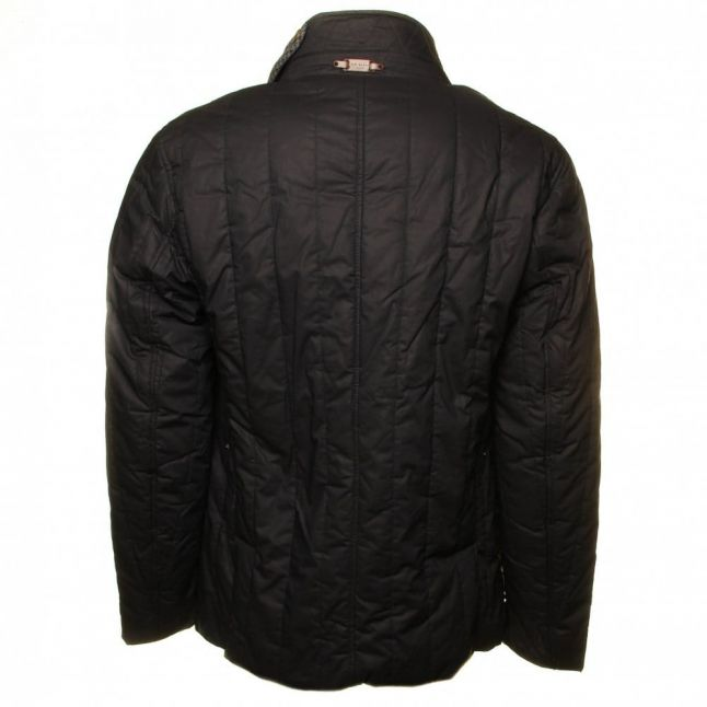 Kereed Quilted Jacket in Navy