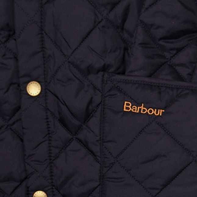 Boys Navy Heritage Liddesdale Quilted Jacket