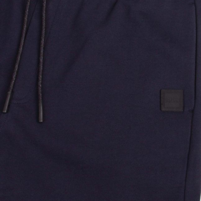 Casual Mens Dark Blue Skoleman Sweat Shorts