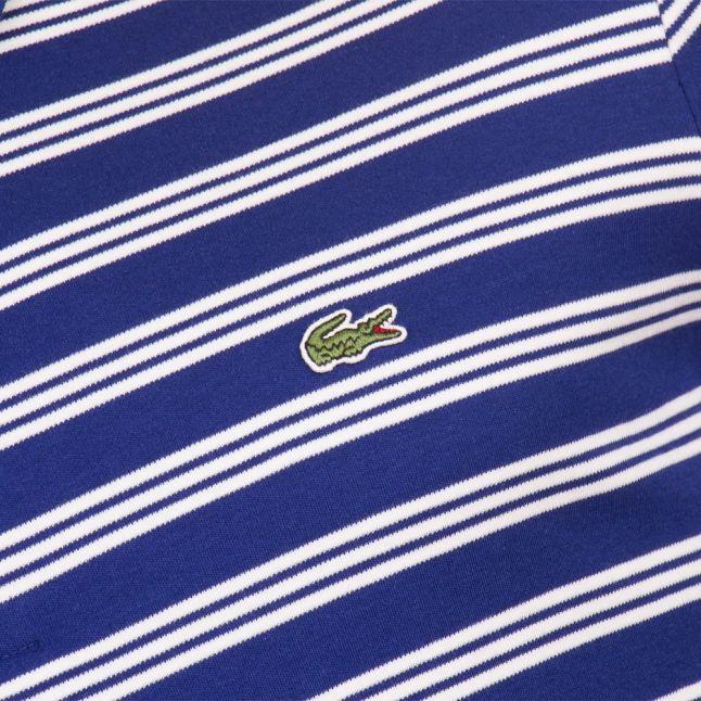 Mens Ocean Striped Regular Fit S/s Polo Shirt