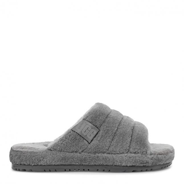 Mens Metal Fluff You Slippers