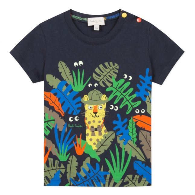 Baby Navy Afif Jungle S/s T Shirt