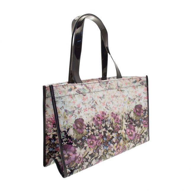 Womens Navy Gelly Flip Flop Icon Bag
