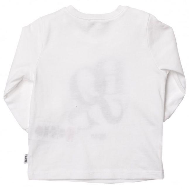 Boss Baby White Branded L/s Tee Shirt
