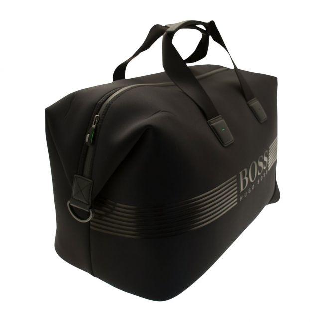 Boss Green Mens Black Pixel Holdall Bag