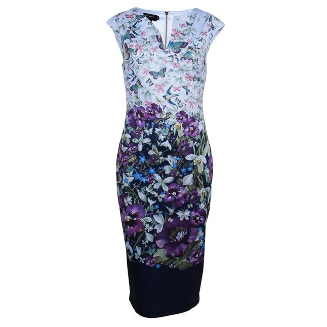 Womens Dark Blue Tiha Entangled Enchantment Dress
