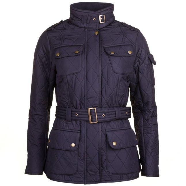 Womens Navy Tourer Polarquilt Jacket