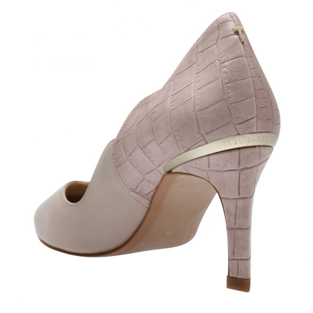 Womens Nude Pink Maysiee Scallop Heels