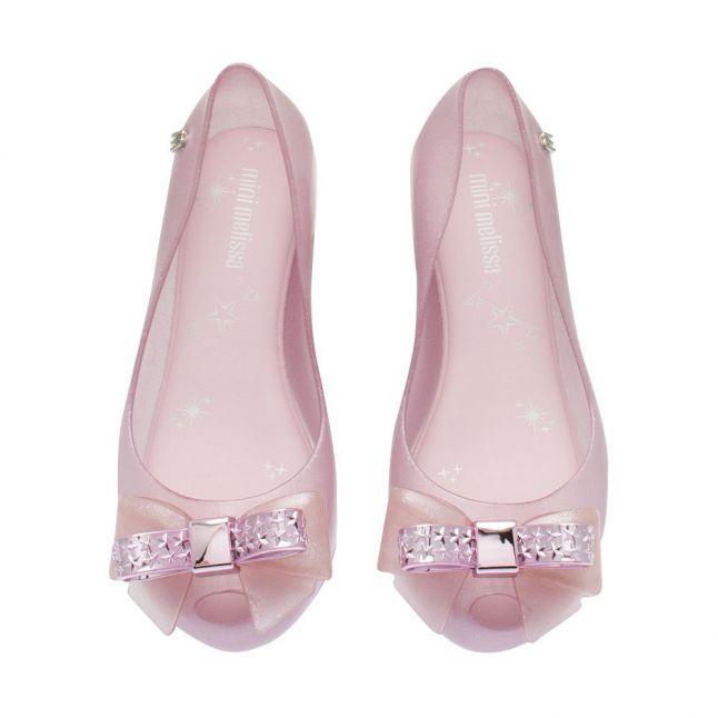 Kids Pink Dusk Bow Ultragirl Stars Bow Shoes (12-2)
