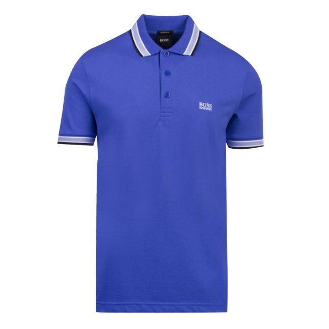 Athleisure Mens Medium Blue Paddy Regular Fit S/s Polo Shirt