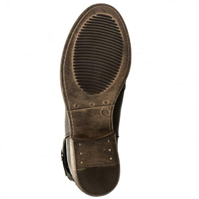 Womens Black Caliso Brogue Boots