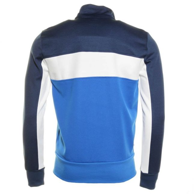 Mens Navy Polyester Tracksuit