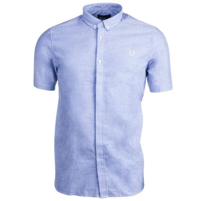 Mens Light Smoke Classic Oxford Shirt